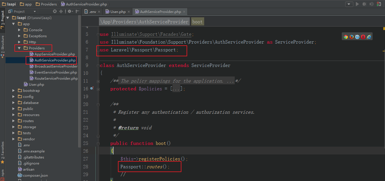 Laravel Passport来实现后端API的授权API-黑马程序员技术交流社区